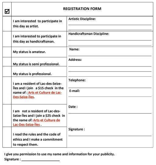 Registration form Luc 2